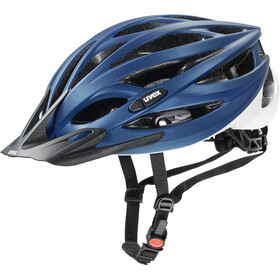 UVEX Oversize Casque, blue-white matt